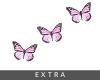 𝕎. butterflies pink