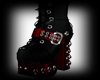 Red/Black /gothik Boots
