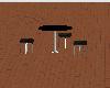 ~S~Ebony Deck Table