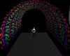 Rainbow dot tunnel