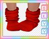 Kids Red Socks