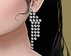 Silver Disco Earrings