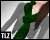 [TLZ]Green Velvet Scarf