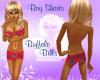 ~LB~Boy Shorts- Bills