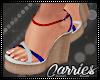 C 4th July heels