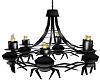 [em] H spider chandelier