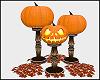 TT Pumpkin Trio on Stand