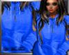 {LMT} Blue Hoodie {F}