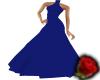 drk blue long dress