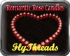 Romantic Rose Candles