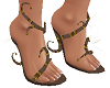 TF* FUN Sandals Brown
