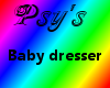 baby dresser.