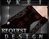 V' +Custom Dark Velvet+