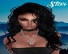 Charlotte Black Silk