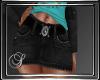 (SL) Black Denim Skirt