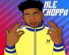 NLE Choppa cutout