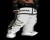 Alpha white pants