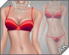 ~AK~ Retro Swim: Red