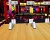 colourful bowling alley