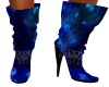 Blue Doll Boots