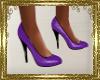 SB~ Shiny Purple Pumps