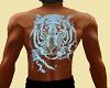 Tiger Back Tat Rave Ink