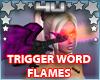 Purple Fire Dragon