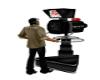 dating game tv camera