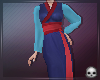 [T69Q] Mulan Blue Dress