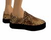 *B* snakeskin slippers