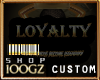 |gz| loyalty sauce top F