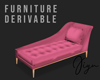 Chaise Lounge Pink