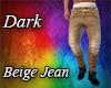 Dark Beige Jean