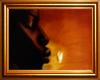 Golden Kiss Frame
