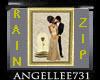 RAIN n ZIP Framed PIC