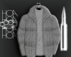 Grey Fendi Coat