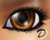 Unisex Shiney Brown Eyes