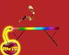Rainbow Balance Beam