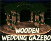 WOODEN WEDDING GAZEBO