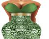 Green Adara Gown BMXXL