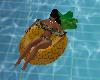flotador piña