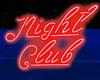 Night Club Red Neon