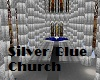 Church Royal Blue/Silver