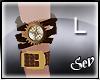 *S Steampunk Bracelet L