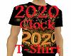 2020 Clock Tshirt Tee