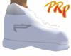 White w/ Grey Trim Kicks