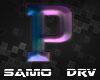 P Letter Colored Drv