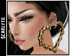 Chola Bamboo Earrings.