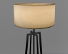 Wood stand Lamp