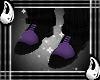(I) Black Purple Shoes
